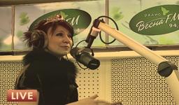 радиоведущая Лена Батинова
