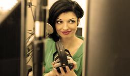 радиоведущая Аня Каверина
